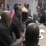 Watterman, Braker feud at community meeting over foot patrols