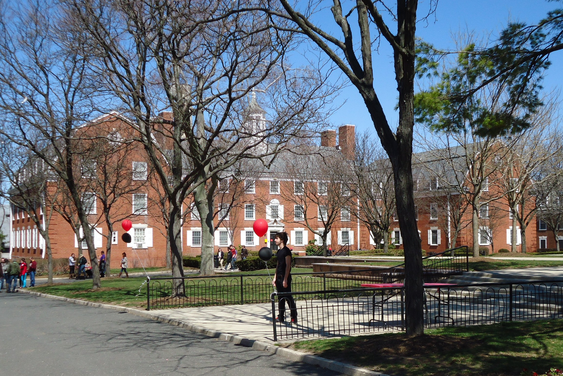 Rutgers University, where Jersey City DPW workers took classes. (Photo: Wikimedia)