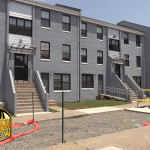 "Residents complain about ""prison grey"" color of Salem Lafayette Apartments"