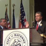 U.S. Sen. Bob Menendez swears in new Bayonne Mayor Jimmy Davis