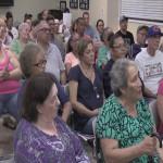 Villa Borinquen Tenants Association hosts meeting, Councilman Daniel Rivera gets called out