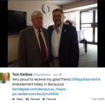 Mayors Davis, Gonnelli, Sen. Menendez show off their social media savvy
