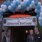 Committed to honoring his memory, Jersey City PBA holds fundraiser for Melvin Santiago's family