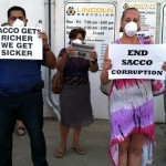 Protesters: Mayor Nick Sacco lax in fixing problems associated with recycling plant