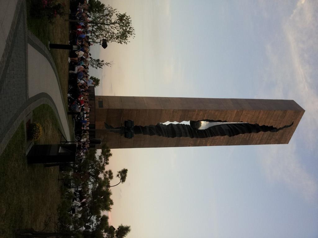 Bayonne 9/11 Teardrop Memorial