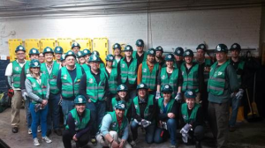 State-certified trained community members joined the Community Emergency Response Team (CERF).
