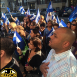 West New York celebrates El Salvador's independence with flag raising
