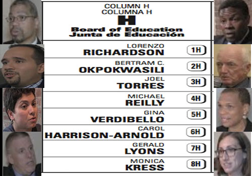 2014 Jersey City Board of Education Candidates