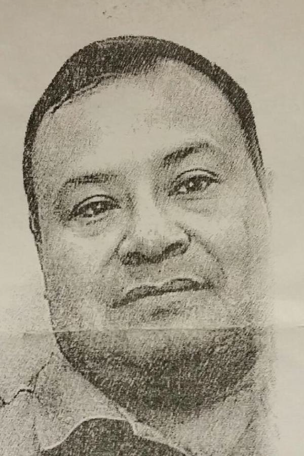 A Hudson County Sheriff's Office sketch of Rogelio Chavix-Tacen.