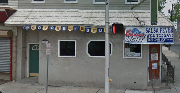 A screenshot from Google Maps of the Tres Cuartos bar in Jersey City,
