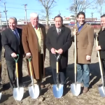 County, NB officials break ground on $6.1 million park improvement project