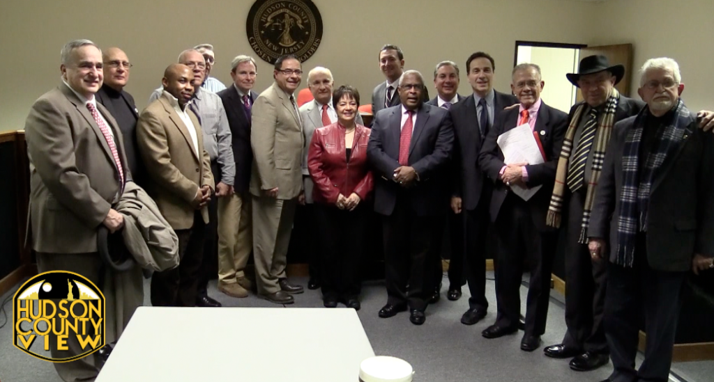 Hudson County Freeholders + Ex-Cuban Political Prisoners