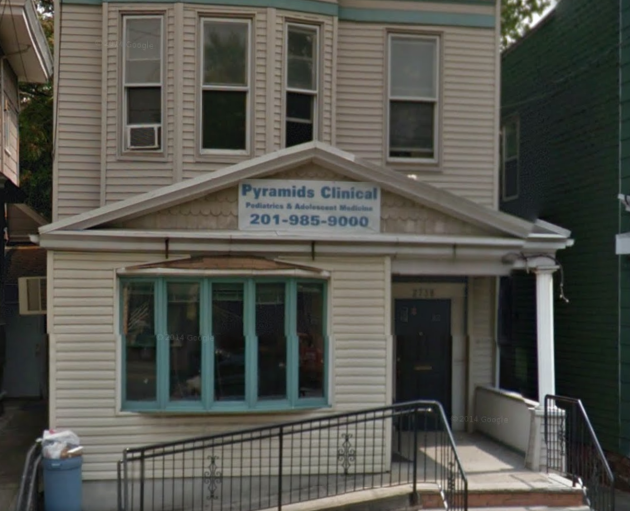 An image of Badawy M. Badaway's Jersey City medical office via Google Maps.