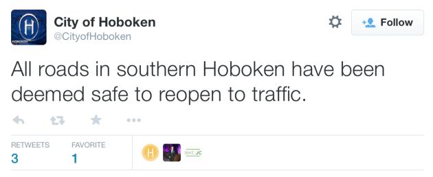 Hoboken bomb tweet