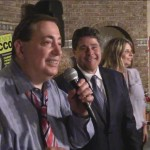 North Bergen Mayor Nick Sacco's team celebrates victory at 90 Park Restaurant