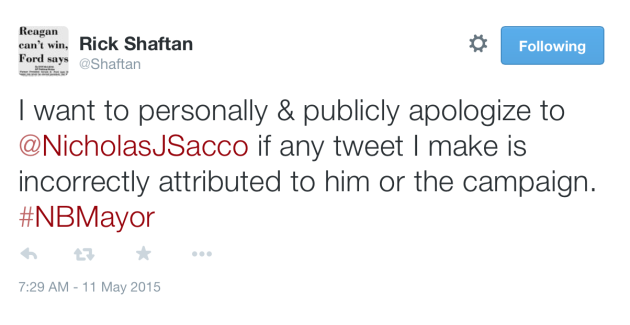 Shaftan apology