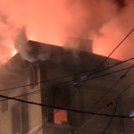 Neighboring communities aid West New York in battling five-alarm fire