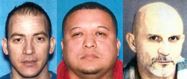 Yoanny Justiz, Marvin Quezada and Horacio Llerena-Martinez, of North Bergen and Union City, were indicted as part of the state's Operation Midnight Run.