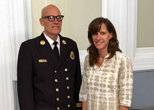 Photo courtesy of Mayor Dawn Zimmer's office.