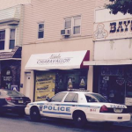 WNY Internal Affairs investigating police car in Bayonne during Assembly race