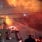 East Newark three-alarm fire torches DPW building, displaces four families