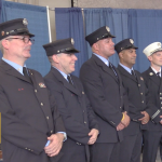 North Hudson Regional Fire & Rescue promotes 5, shows off new equipment