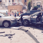 Reckless driver hits, disables car in North Bergen, crashes into 3 cars in Weehawken
