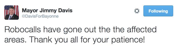 Davis BMUA tweet