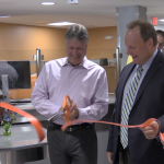 Bayonne Mayor Davis joins ribbon cutting ceremony at renovated PSE&G center
