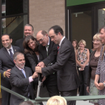 Hoboken officials show strong support for ribbon cutting at Elysian Charter School
