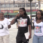 Dozens come out and ask for justice, changes at Jersey City anti-violence rally