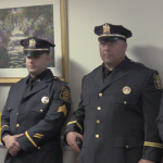 North Bergen Police Department promotes 2 new captains, 2 new lieutenants