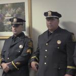 North Bergen Police Department promotes 2 new captains, 2 new lieutenants