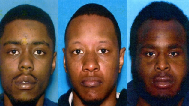 Michael A. McLeod, David Powell, Jr. and Tyree D. Jeter are accused of running a prostitution ring out of Hudson County. Photos courtesy of the New Jersey Attorney General's Office.