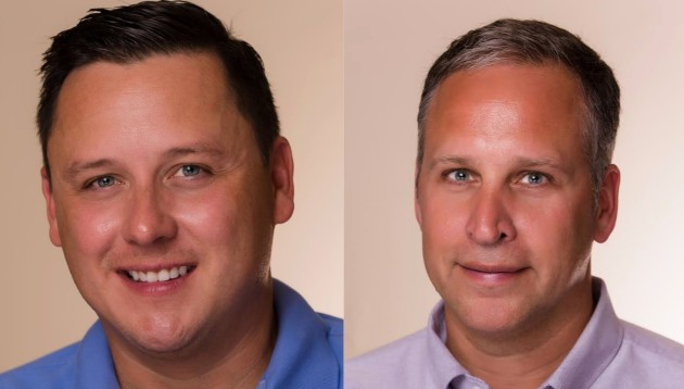 Chris Piechocki and Barry Kushnir. Photos courtesy of the Kids First campaign.