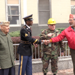West New York celebrates Veterans Day with army and marine vets