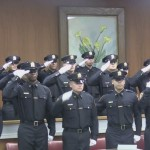 Officials tell 17 new sheriff's recruits 'dangerous career' has 'no more safe havens'