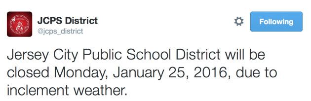 Jersey City schools closed