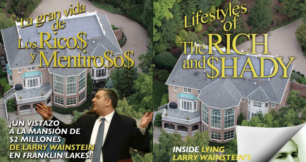 Lifestyles of the RIch and Shady