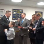 New Guttenberg Councilman Wayne Zitt sworn in by state Senator Nick Sacco