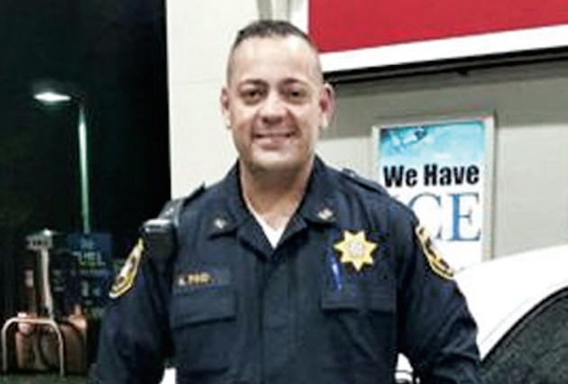 Facebook photo of Hudson County Sheriff's Officer Alex Pino.