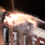 UPDATED: Hoboken firefighters battle stubborn apartment blaze in frigid weather