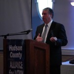 Bayonne Mayor Davis talks Turnpike 14A, Bayonne Bridge, $56M ship-to-rail facility