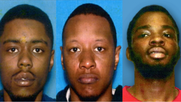 Michael A. McLeod, David Powell, Jr. and Demetrius Hayward pleaded guilty to human trafficking charges. Photos courtesy of the New Jersey Attorney General's Office.