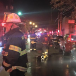 2 firefighters injured, 6 families displaced by two-alarm fire in North Bergen