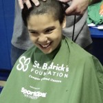 Guttenberg officials, students shave their heads to support cancer research