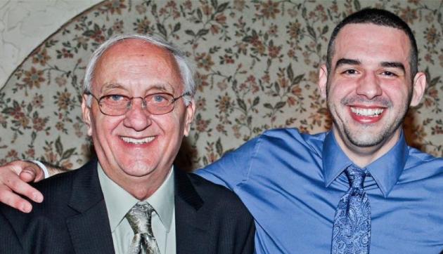 Silvio Acosta (left) and his son, Michael Acosta. Facebook photo.