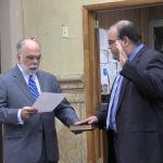 North Hudson Regional Fire & Rescue Board swears in Jose Munoz