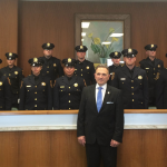 Hudson County Sheriff's Office swears in 14 new officers in Jersey City