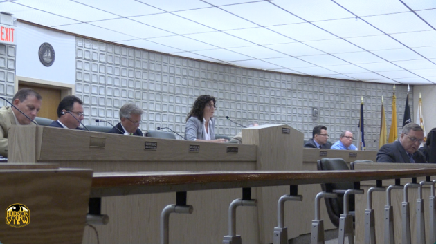 A photo of the Bayonne City Council from June 22.